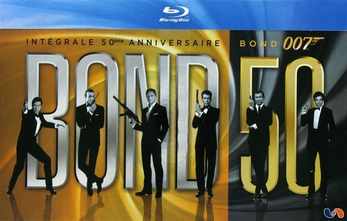 [MULTI] James Bond 007 : Intégrale - Edition 50ème Anniversaire [BluRay 1080p]