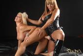 Ava Devine & Nikita Von James - Punished